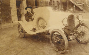 Arnold Laschet (sen.) in his AMILCAR (1924)
