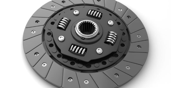 Clutch disc of a car
